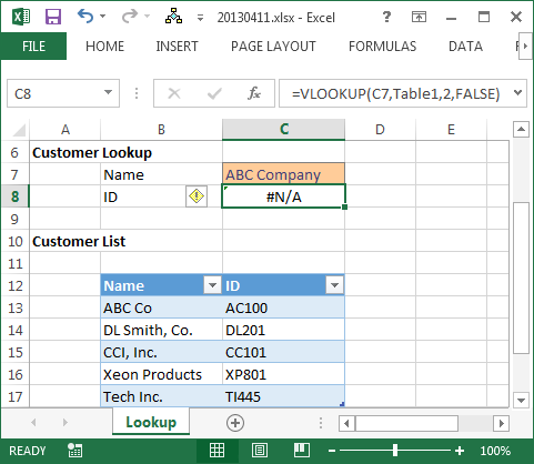 Perform Approximate Match and Fuzzy Lookups in Excel | Excel