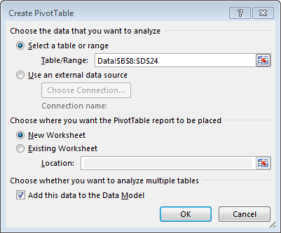count distinct values in an excel 2013 pivottable excel university