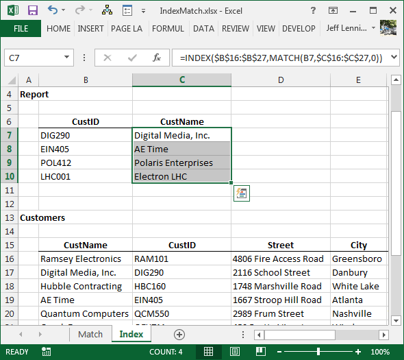 How To Return A Value Left Of Vlookup's Lookup Column Excel University. Worksheet. Application Worksheetfunction Vlookup Object Required At Clickcart.co