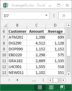 how to put not equal to in excel formula