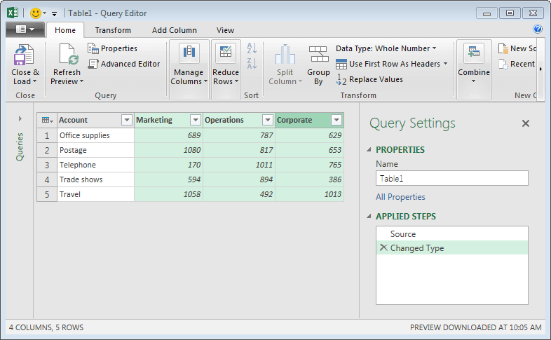 Unpivot Excel Data | Excel University