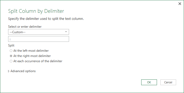 Split by custom delimiter by Jeff Lenning