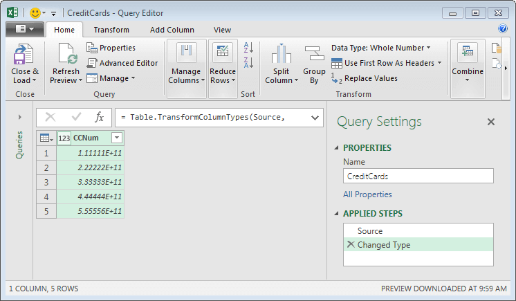 Query editor by Jeff Lenning