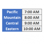 Excel time zones by Jeff Lenning