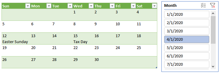 Power Query Calendar | Excel University
