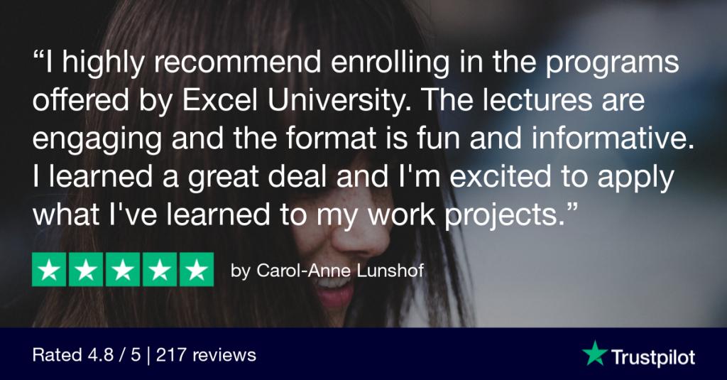 Trustpilot Review - Carol-Anne Lunshof