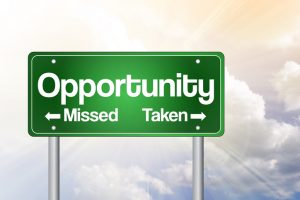 Opportunity Missed and Taken